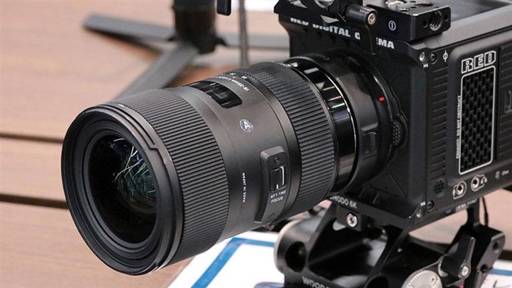 SIGMA(シグマ)18-35mm F1.8 DC HSM | Art 1