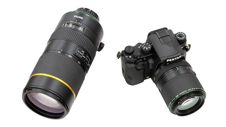 HD PENTAX-D FA★70-200mmF2.8ED DC AW と HD PENTAX(ペンタックス)-DA 55-300mmF4.5-6.3ED PLM WR RE 大きさの比較