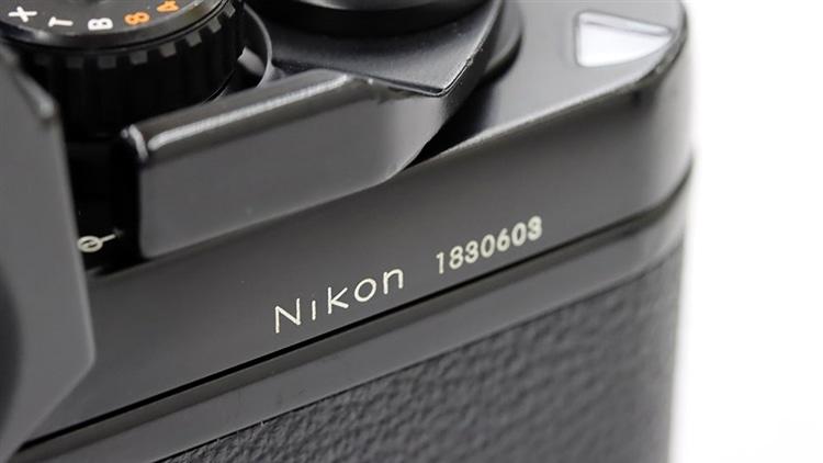 Nikon(ニコン) F3 シリアルナンバー