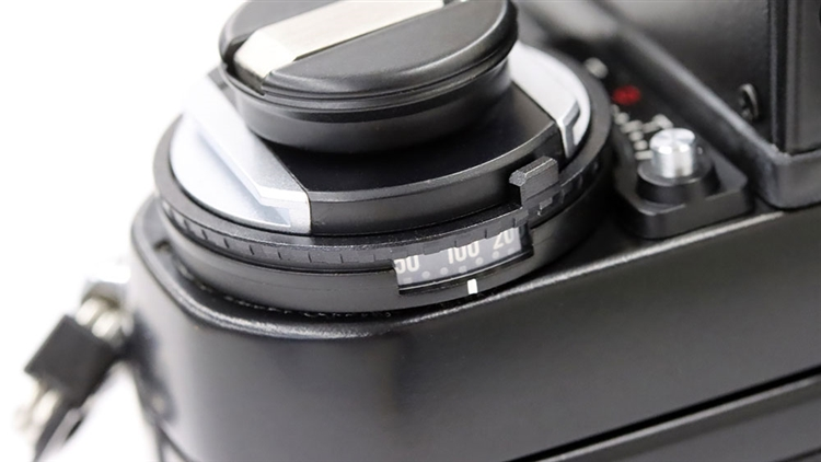 Nikon(ニコン) F3 ISO感度ダイヤル