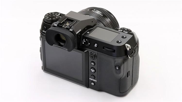 FUJIFILM(富士フイルム) GFX100S + GF50mmF3.5 R LM WR 背面