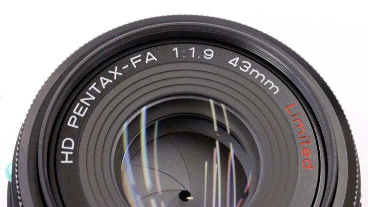 HD PENTAX-FA 43mmF1.9 Limited 名板
