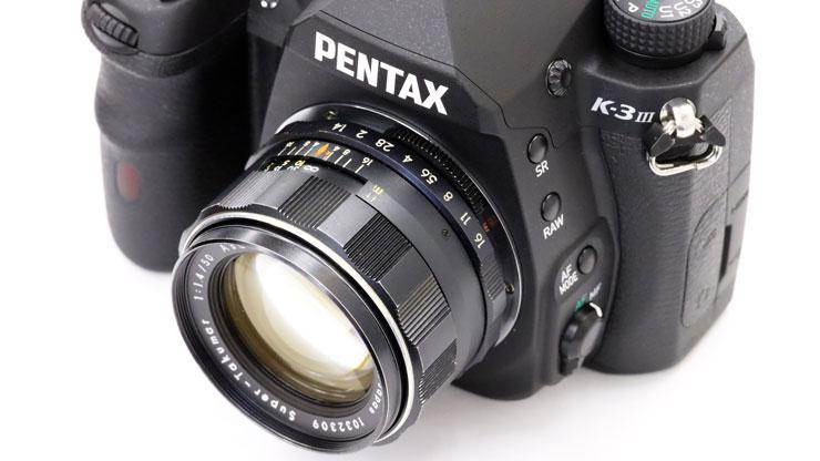 PENTAX(ペンタックス) K-3 MarkIII + ST50mm f1.8