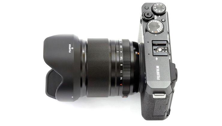 FUJIFILM(富士フイルム) X-E4 + フジノンレンズ XF18mmF1.4 R LM WR 本体3