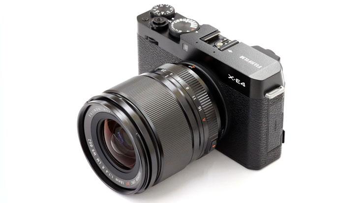 FUJIFILM(富士フイルム) X-E4 + フジノンレンズ XF18mmF1.4 R LM WR 本体1