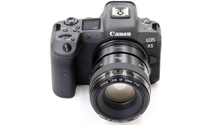 Canon(キヤノン) EOS R5 + EF50mm F1.4 USM 本体2