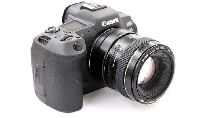 Canon(キヤノン) EOS R5 + EF50mm F1.4 USM 本体3