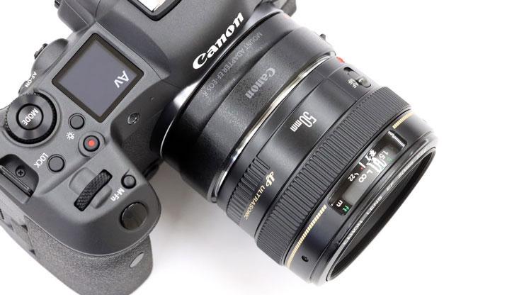 Canon(キヤノン) EOS R5 + EF50mm F1.4 USM 本体1