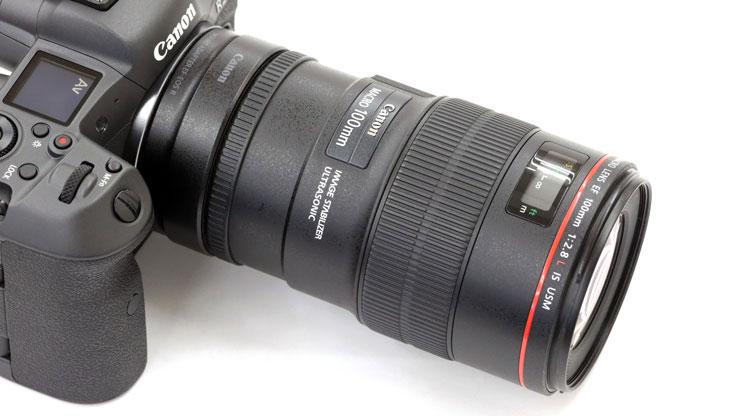 Canon(キヤノン) EOS R5 + EF100mm F2.8Lマクロ IS USM 本体2
