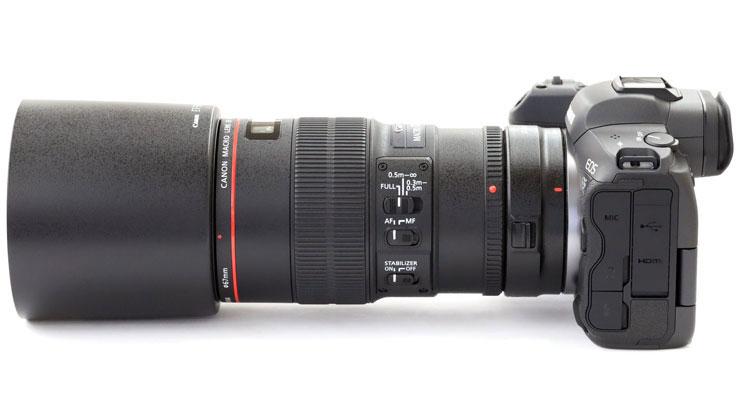 Canon(キヤノン) EOS R5 + EF100mm F2.8Lマクロ IS USM 本体3