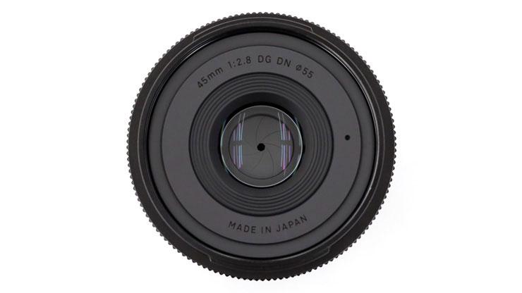 SIGMA(シグマ) 45mm F2.8 DG DN   Contemporary フロントレンズ