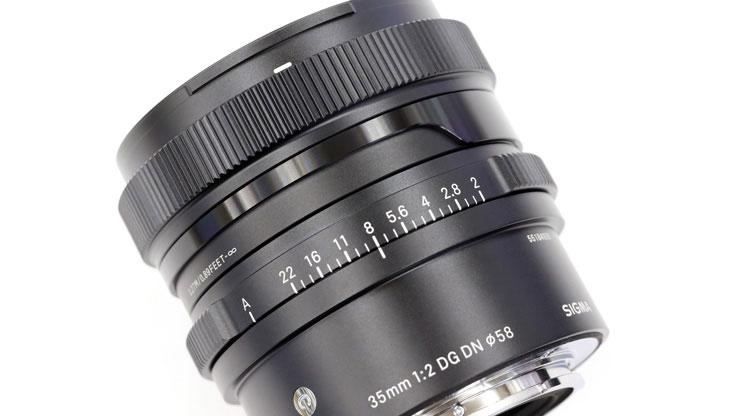 SIGMA(シグマ)35mm F2 DG DN   Contemporary本体アップ