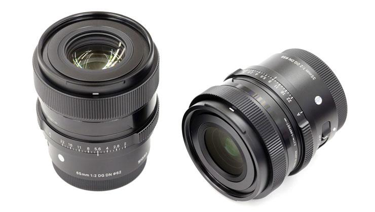 SIGMA(シグマ)35mm F2 と 65mm F2 DG DN   Contemporary