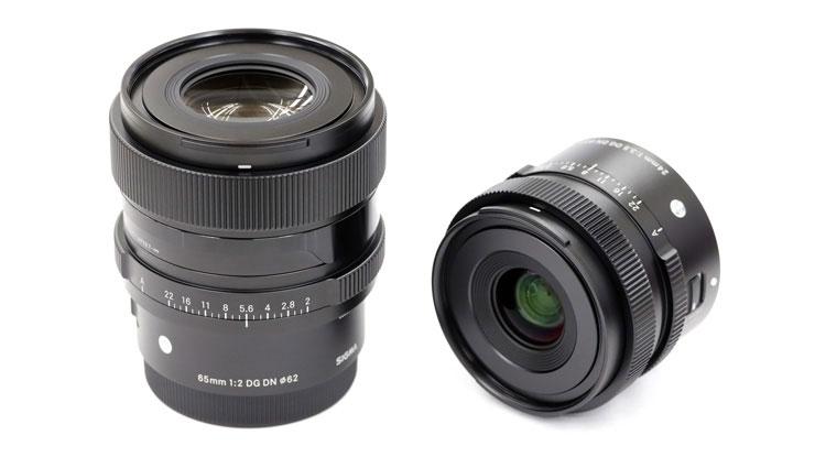 SIGMA(シグマ)24mm F3.5 と 65mm F2 DG DN   Contemporary