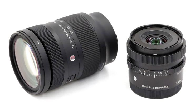 SIGMA(シグマ)Iシリーズレンズと28-70mm F2.8 DG DN   Contemporary