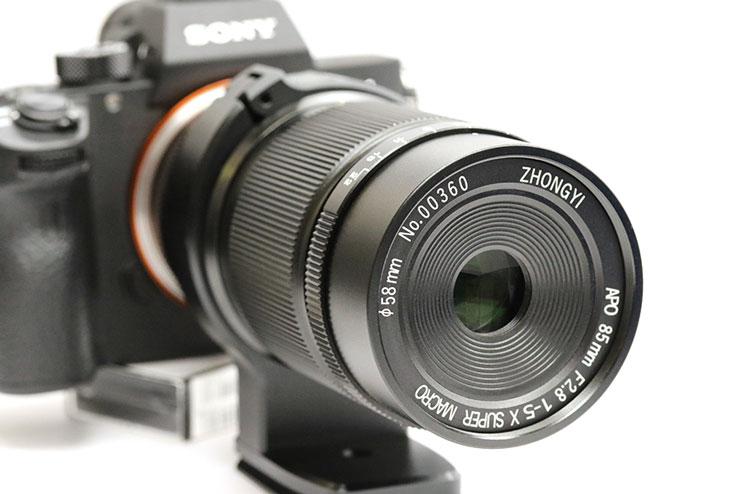 中一光学(チュウイチコウガク) APO 85mm F2.8 SUPER MACRO 1-5X