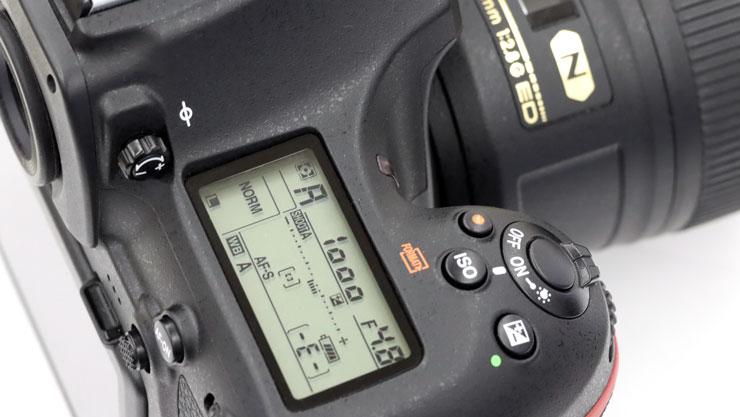 Nikon 絞り表示イメージ
