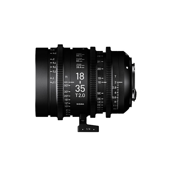 18-35mm T2/E feet [High Speed Zoom Line Eマウント フィート表示]