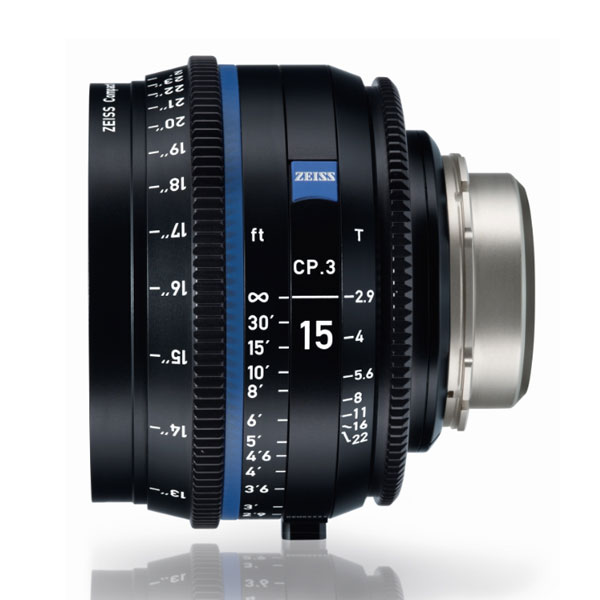 CP.3 15mm/T2.9 PL Feet [Compact Prime CP.3 PLマウント フィート表示]