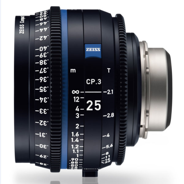 CP.3 25mm/T2.1 PL Feet [Compact Prime CP.3 PLマウント フィート表示]