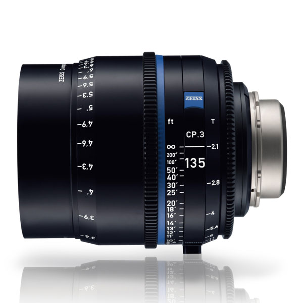 CP.3 135mm/T2.1 PL Feet [Compact Prime CP.3 PLマウント フィート表示]